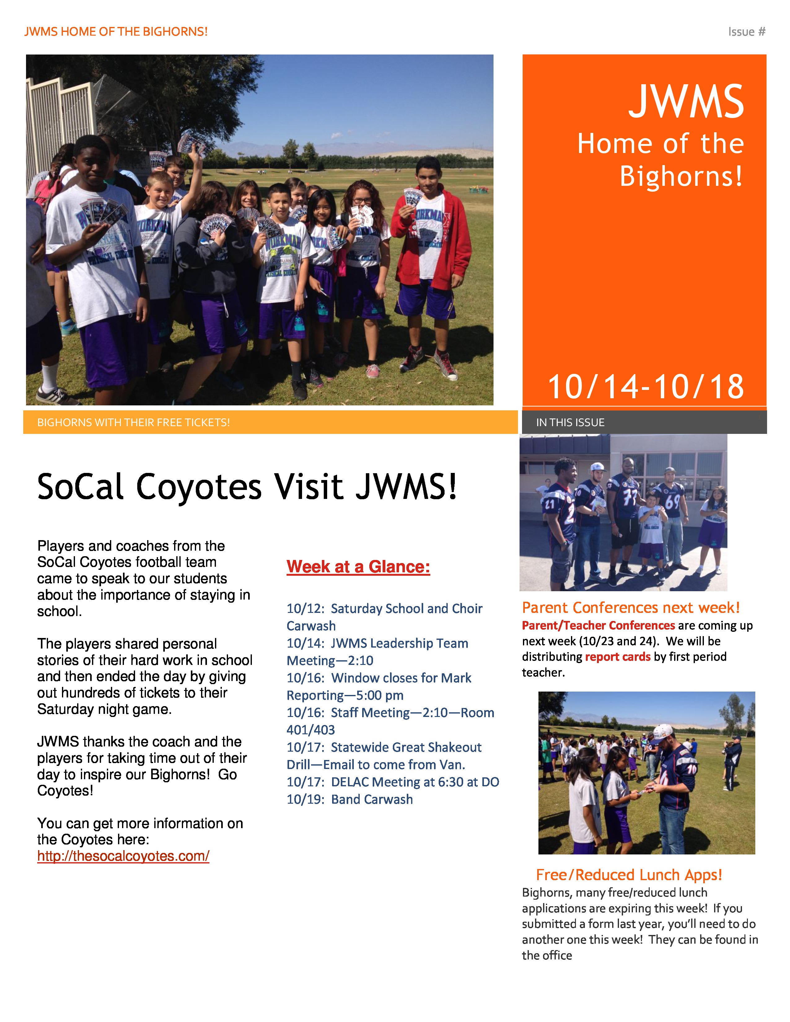 James Workman Newsletter